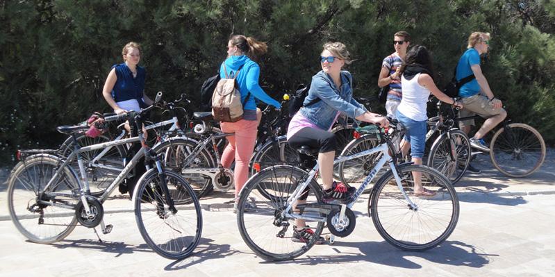 Tour in bicicletta organizzato
