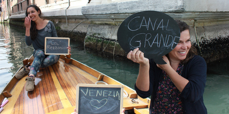 Esplorare i canali di Venezia