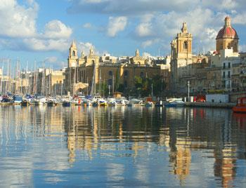 Corso di inglese nella Baia di San Giuliano,Malta