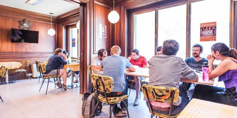 Sala da pranzo comune