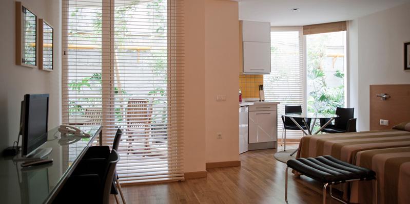 Appartamento studio nel residence in loco