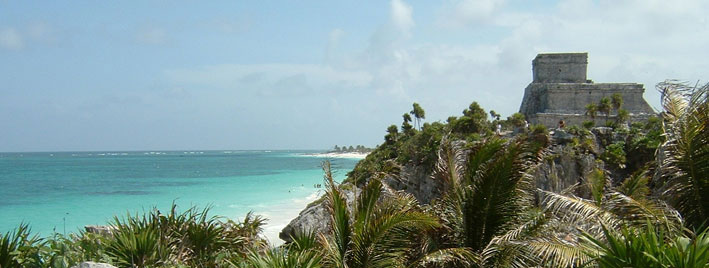Mayan Ruin At Tulum, near Playa del Carmen
